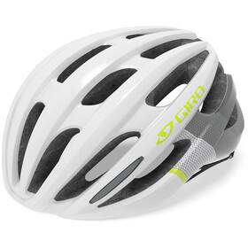 Giro Saga MIPS Cykelhjelm Damer, matte white/citron